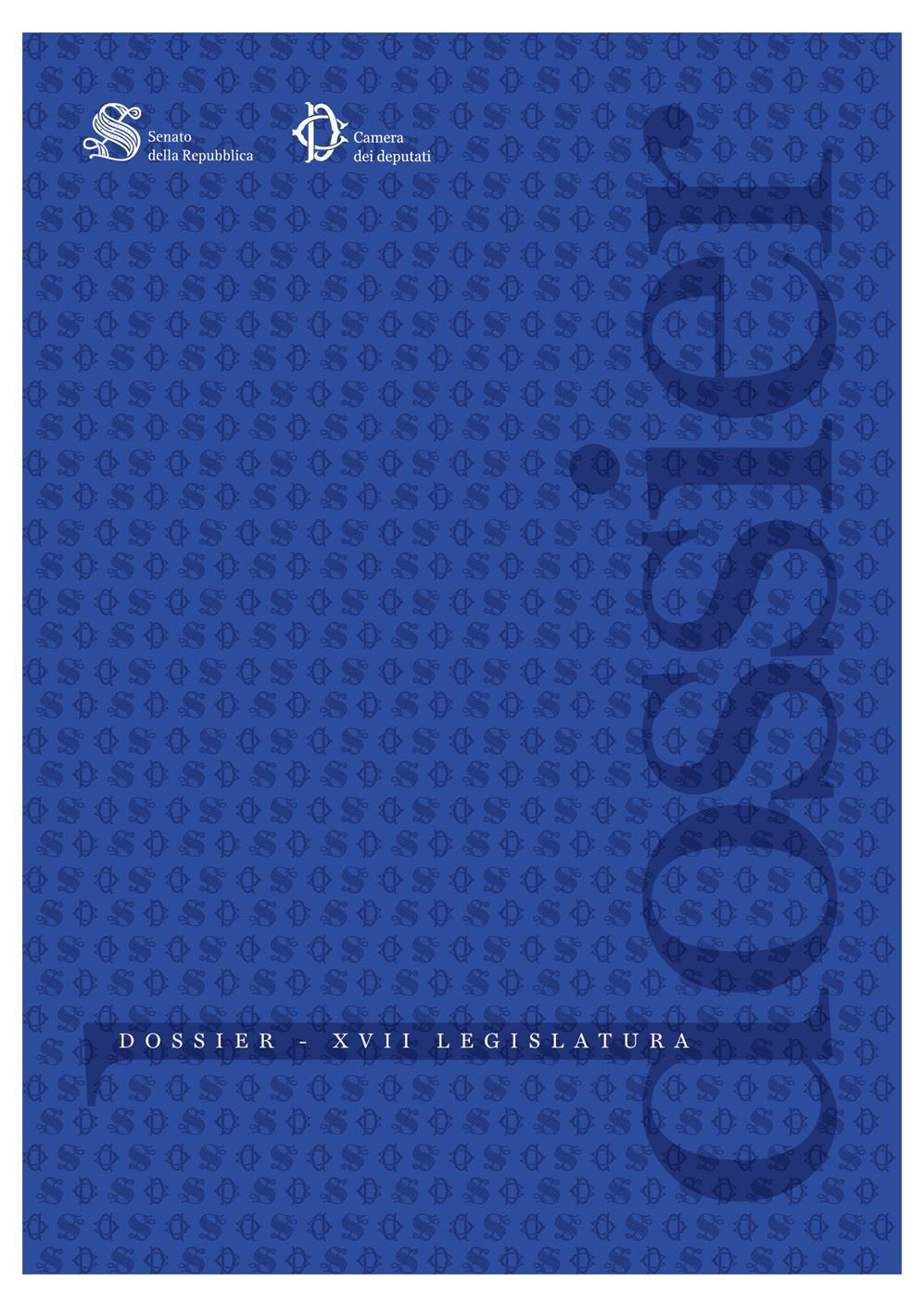 Camera dei deputati dossier gi0440 for Rassegna stampa camera deputati