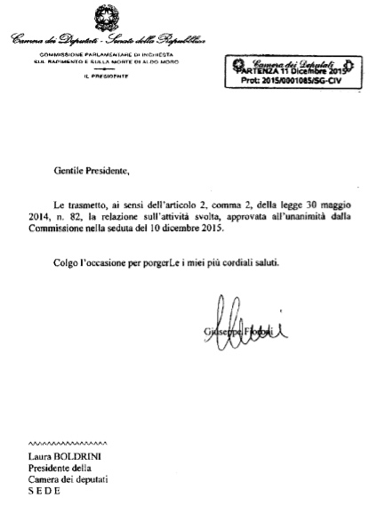 Documento for Deputati numero